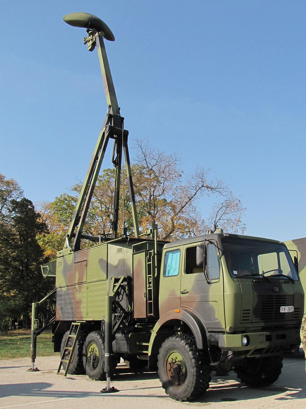 Sloboda 2017 radar M85 zirafa