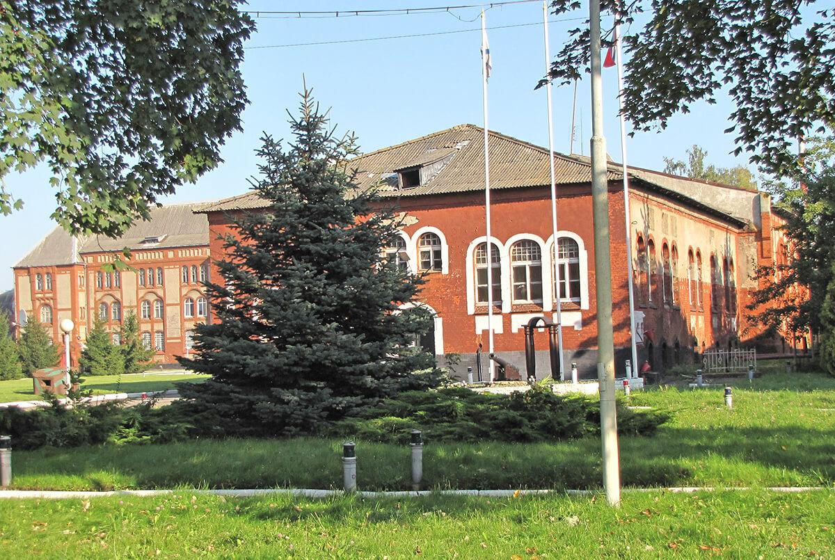 Baltijsk - pehotnye kazarmy