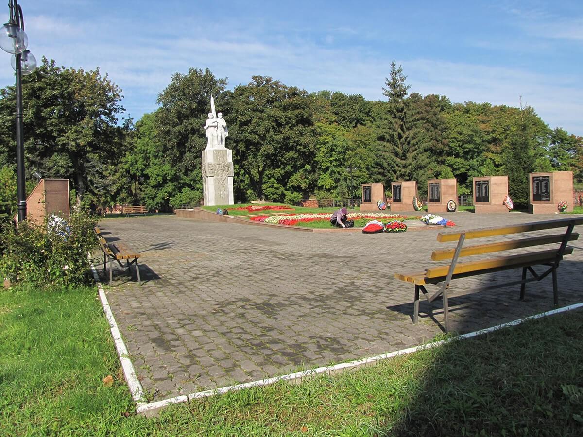 Baltijsk - Memorialnyj kompleks