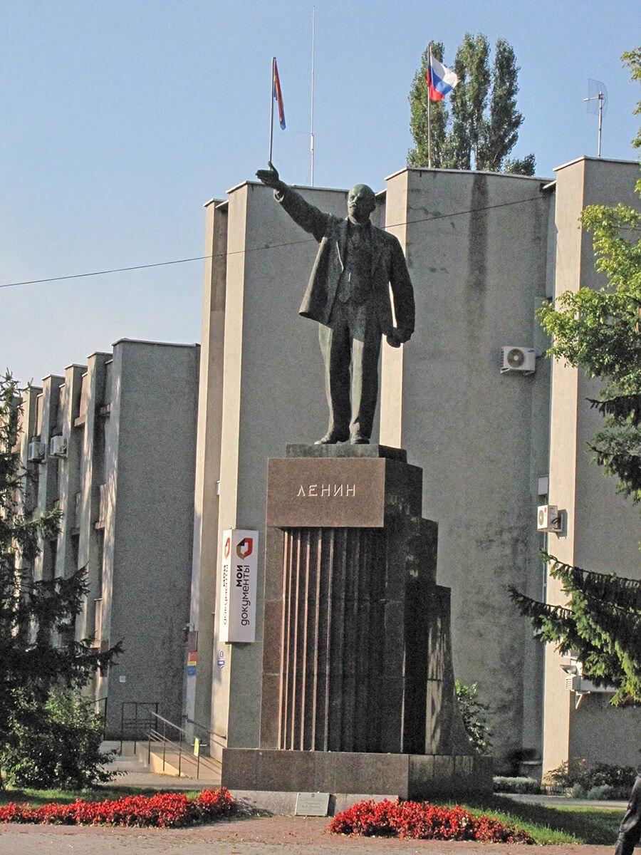 Baltijsk pamyatnik Leninu