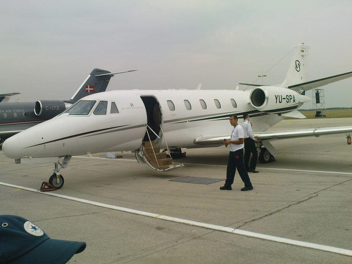 Aeromiting Batajnica 2009 Cessna 560XL Citation  XLS