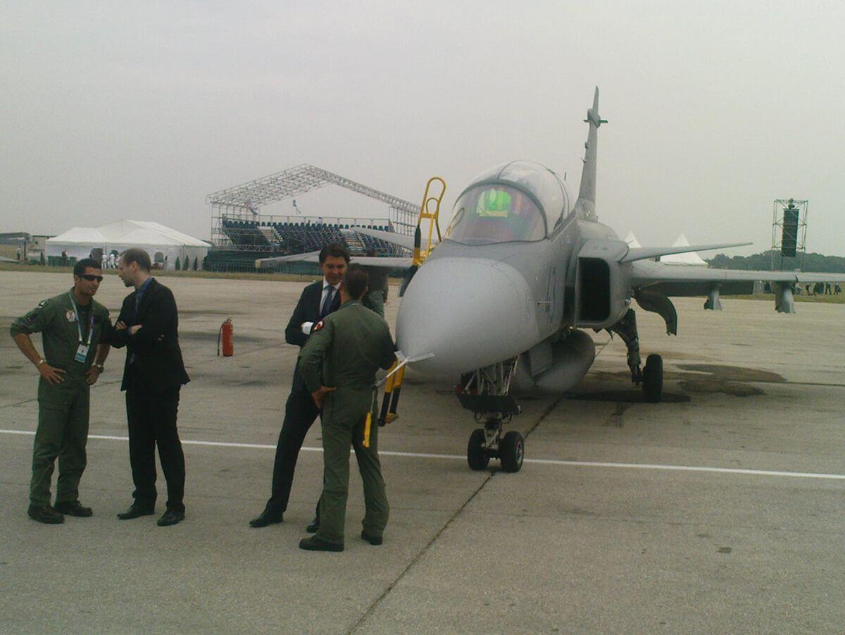 Aeromiting Batajnica 2009 madjarski Saab-Jas-39