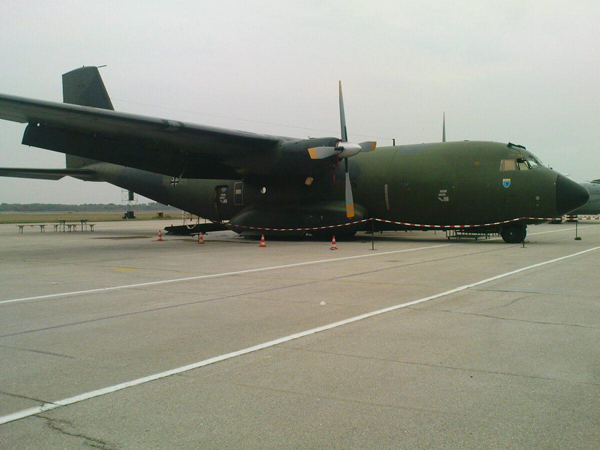 Aeromiting Batajnica 2009 nemacki C-160