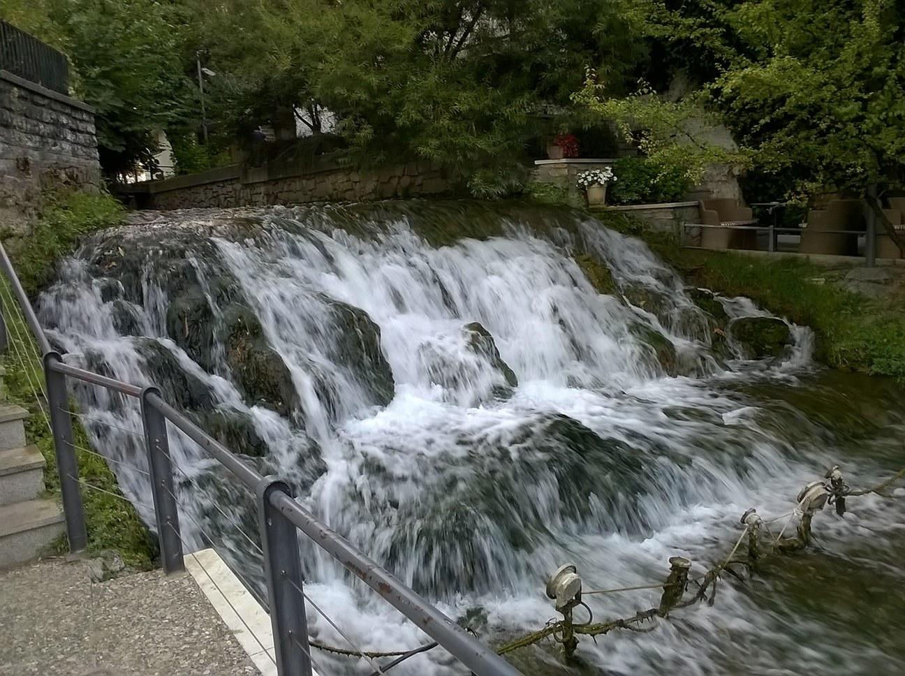 Edesa mali vodopad