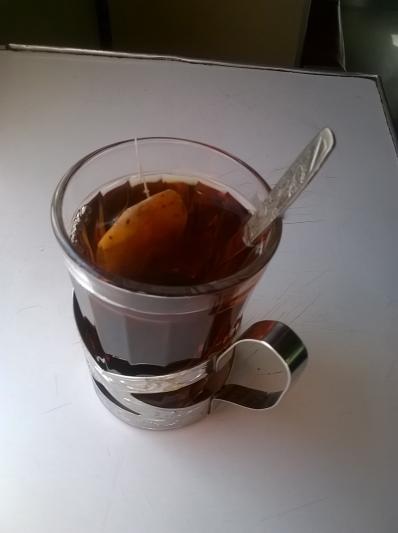 Чай в поезде