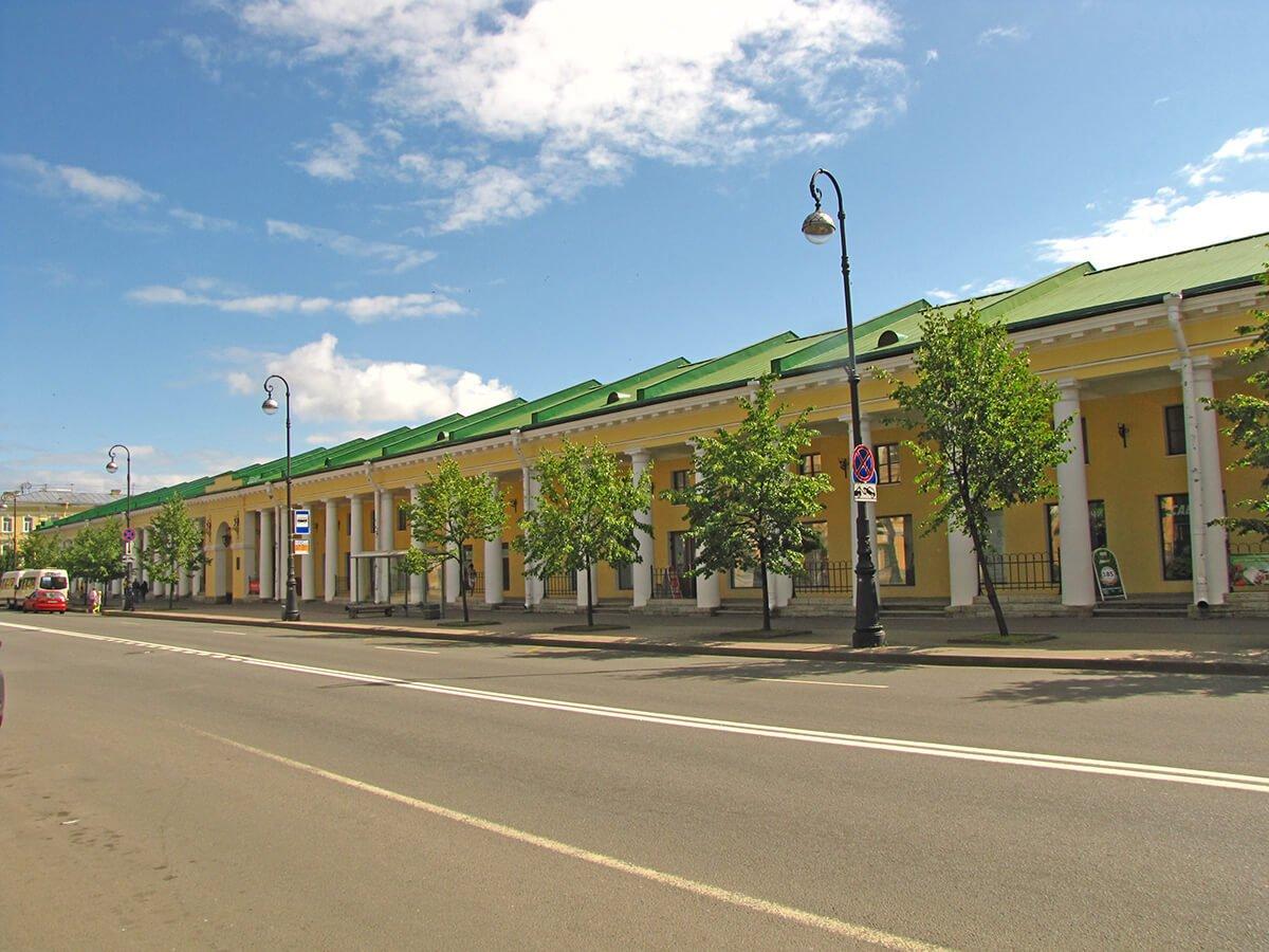 Zgrada tržnice u Kronštatu