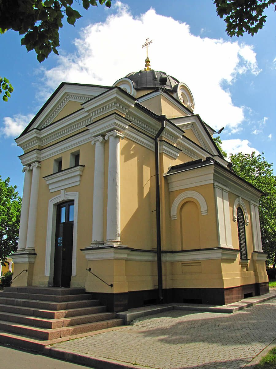 Kronstat - Kapela Tihvinske ikone Majke Božije