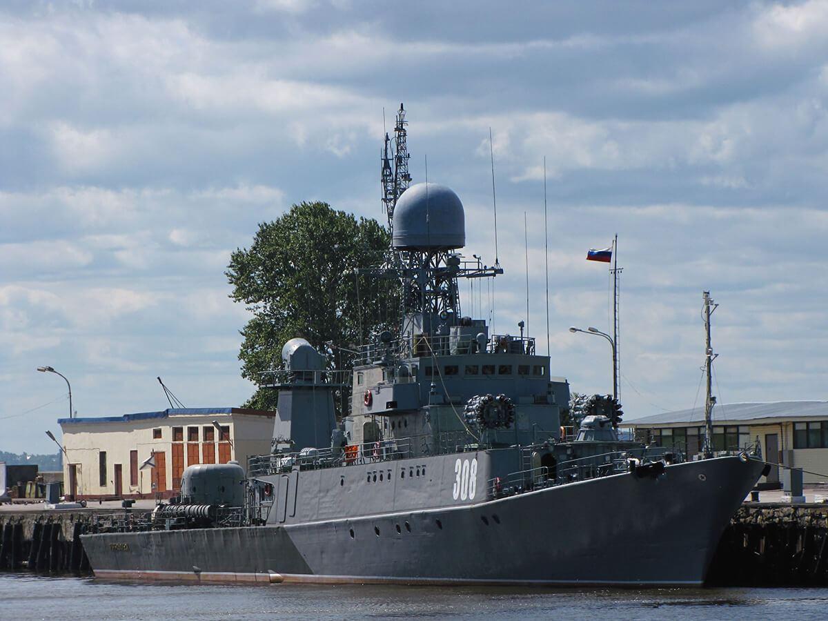 Kronštat - mali protivpodmornički brod Zelenodoljsk