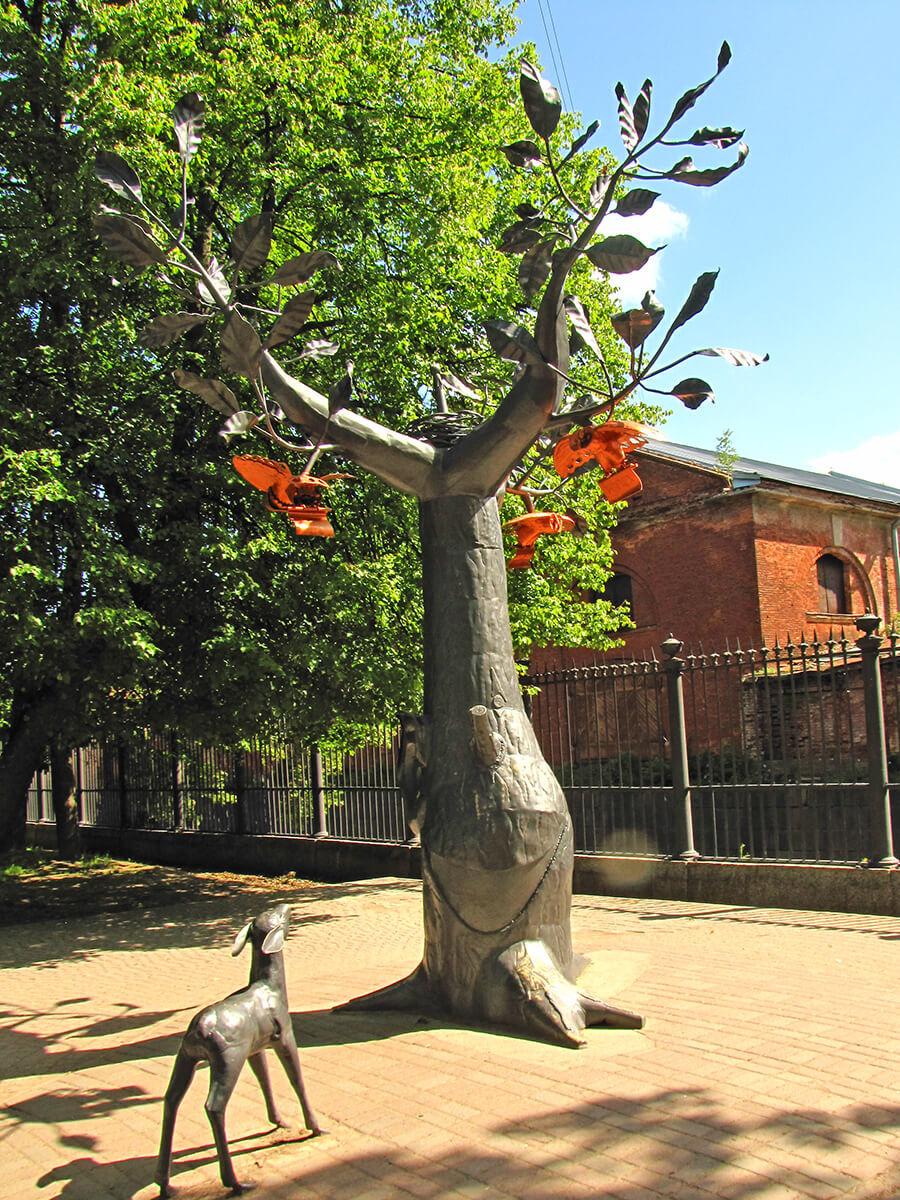 Drvo želja u Kronštatu
