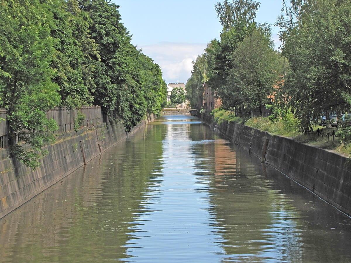 Kronstat - Odvodni kanal