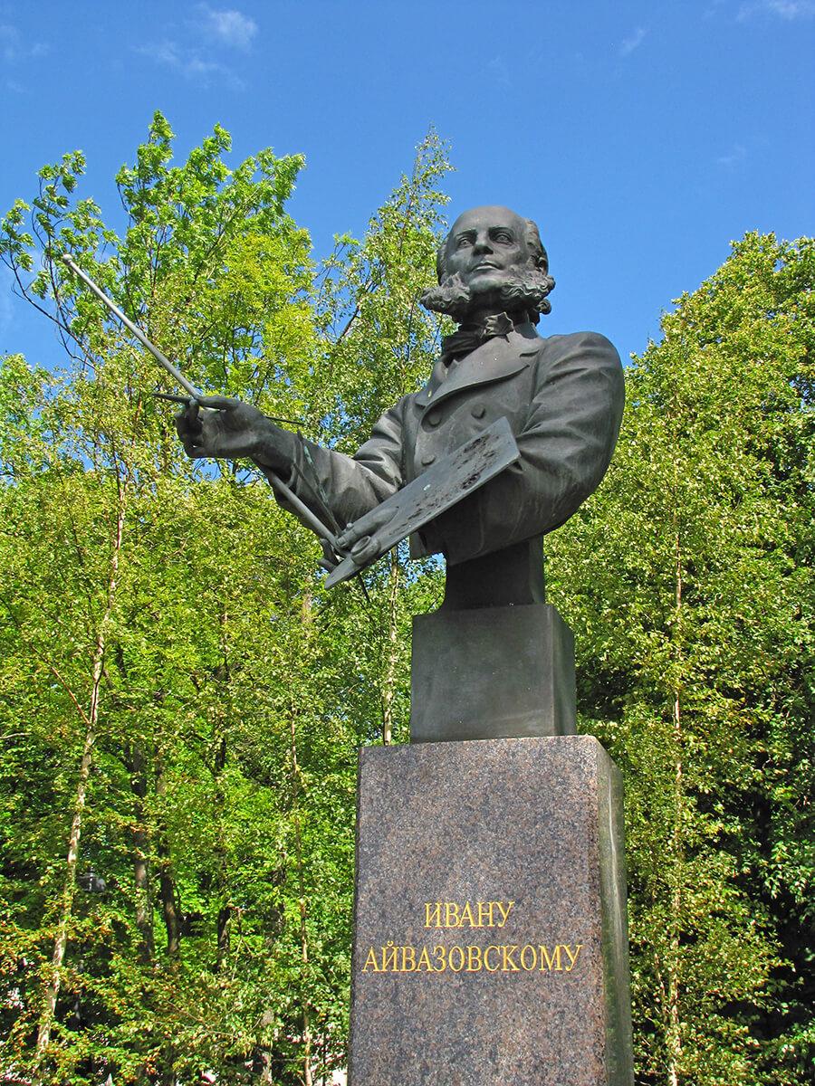 Kronstat - Spomenik Ajvazovskom