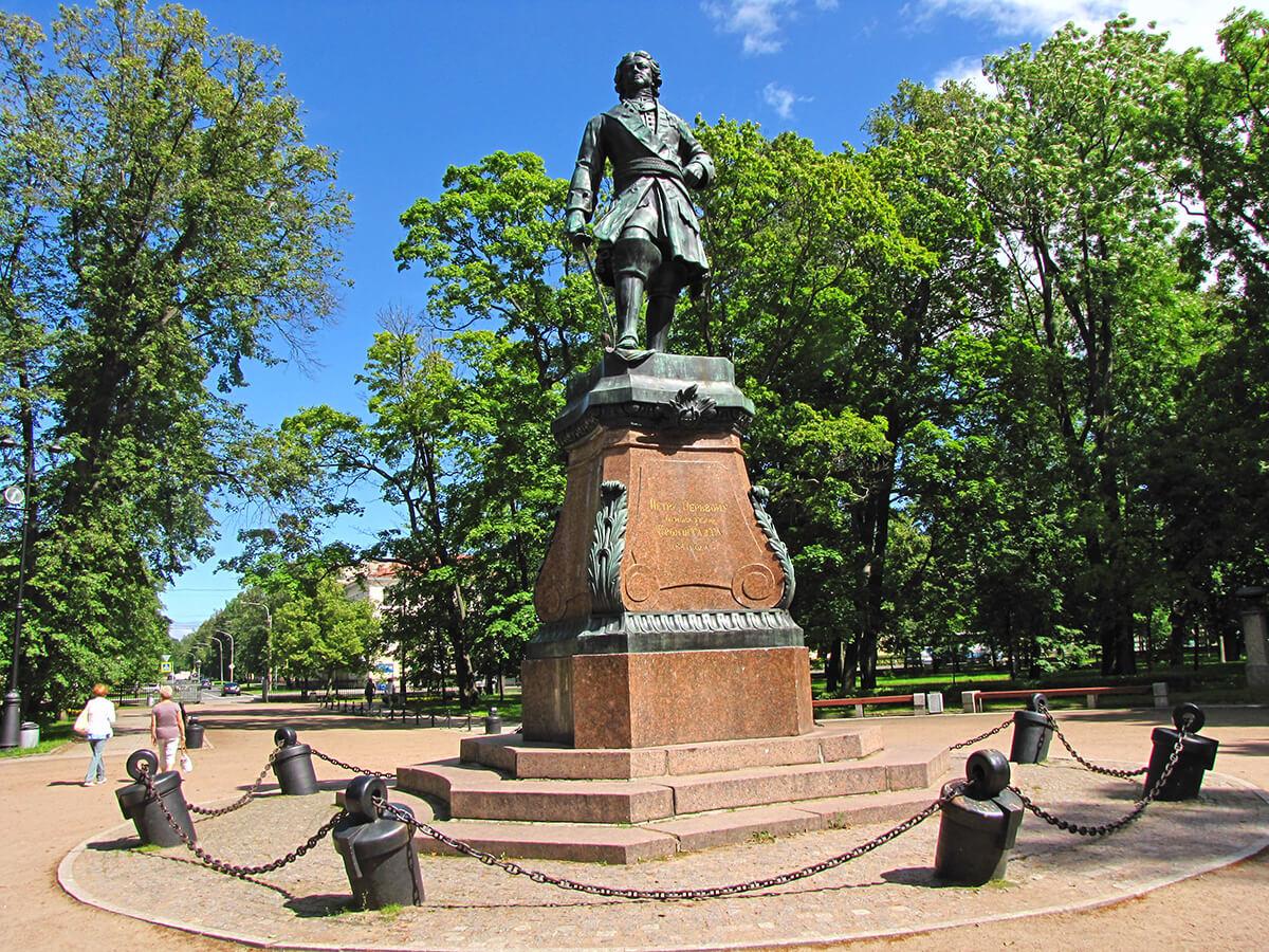 Kronštat - Spomenik Petru I