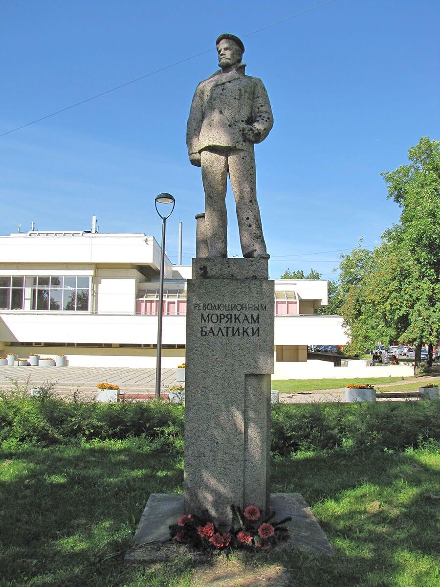 Spomenik mornarima pristalicama revolucije - Kronštat