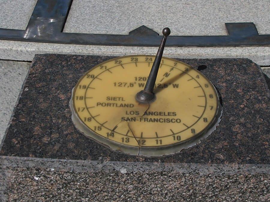 Sunčani sat u Kronštatu