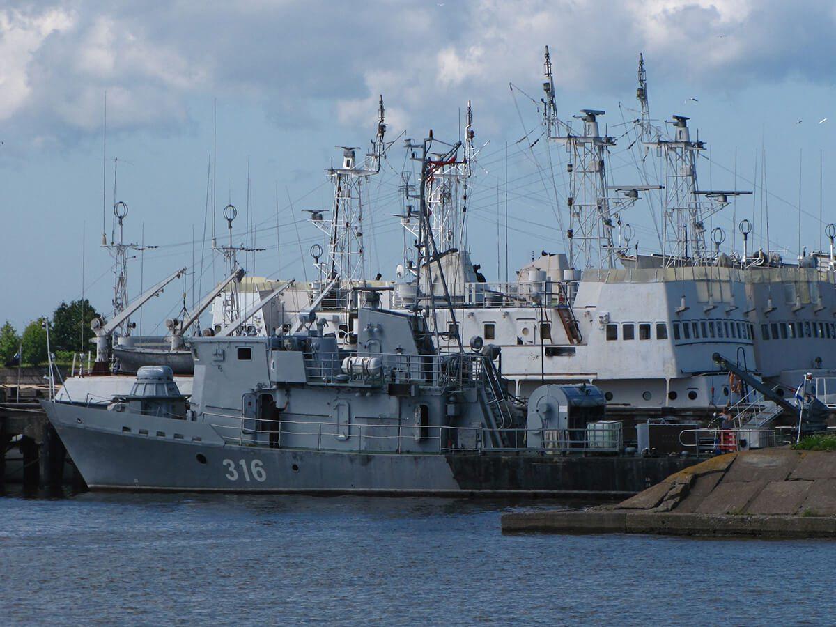 Minolovac - PT-57 u Kronštatu