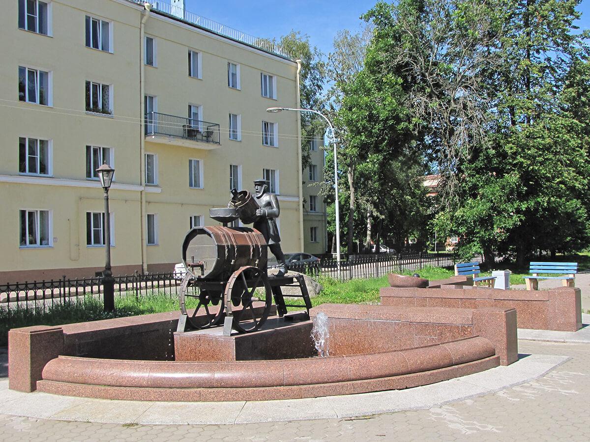 Kronštat - spomenik vodonoši
