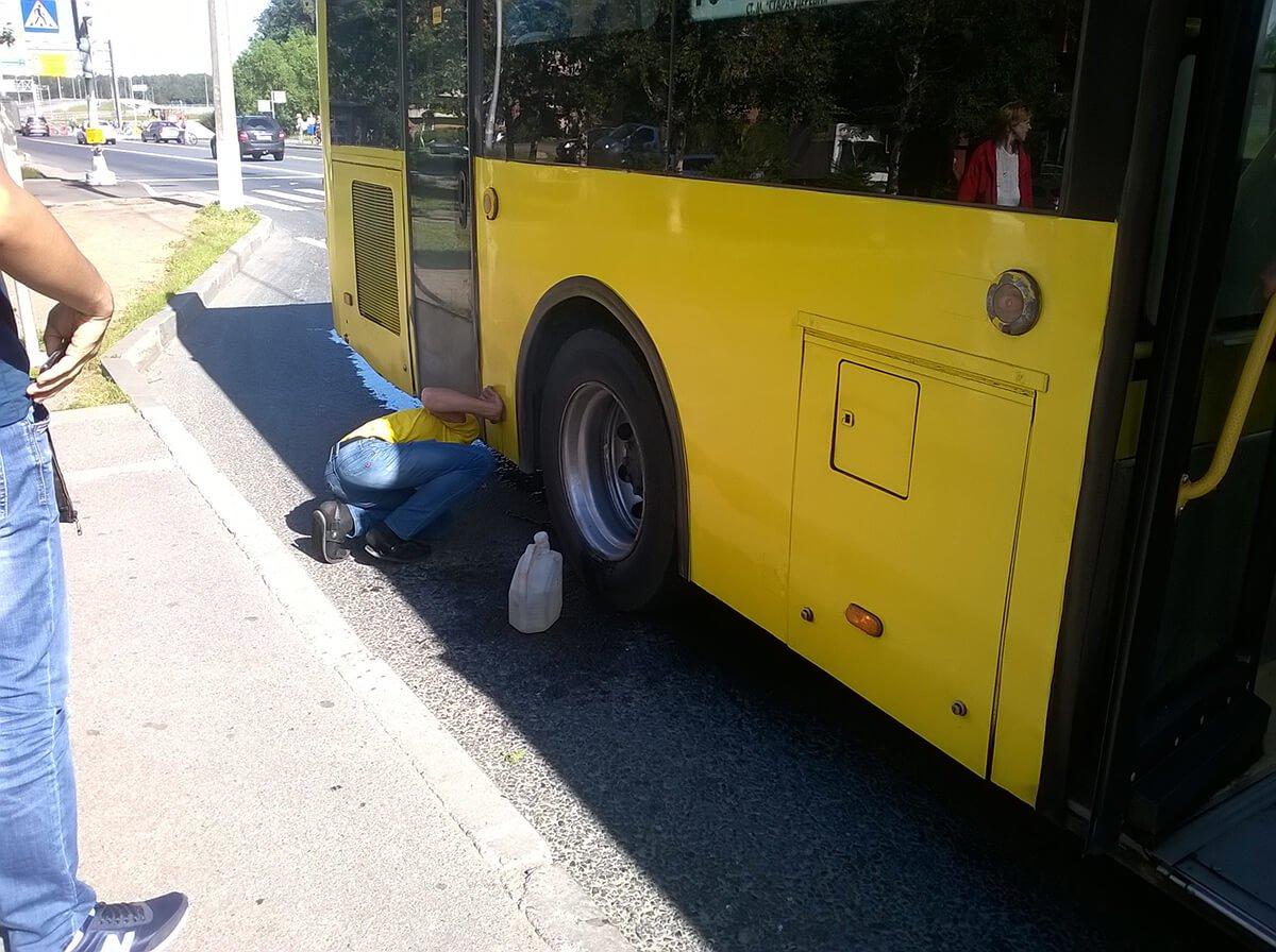 Sankt Peterburg, autobus 101 - kvar