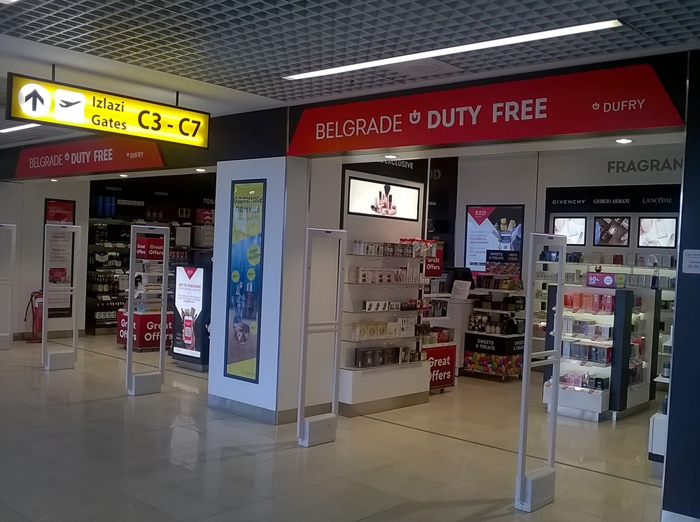 Belgrade Airport Duty Free