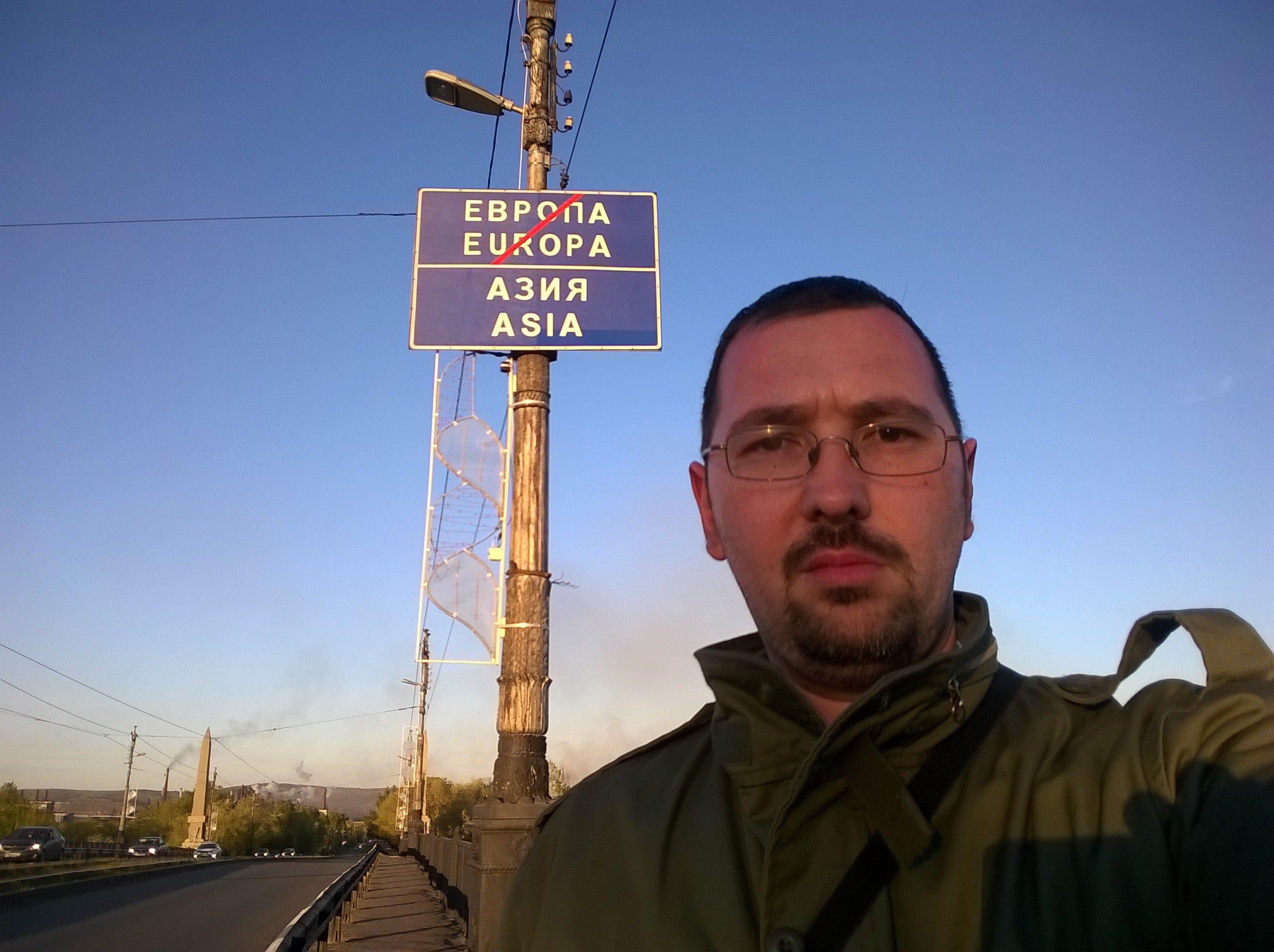 Selfie Evropa - Azia