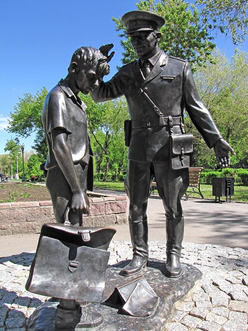Памятник милиционеру