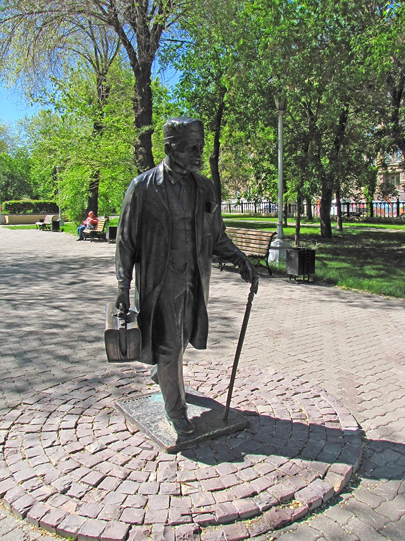 Pamyatnik Doktor Magnitogorsk