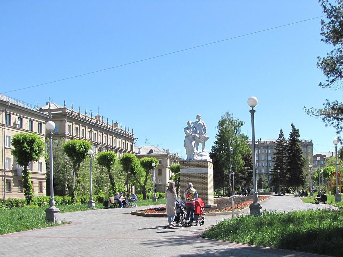 Сквер Чапаева Магнитогорск