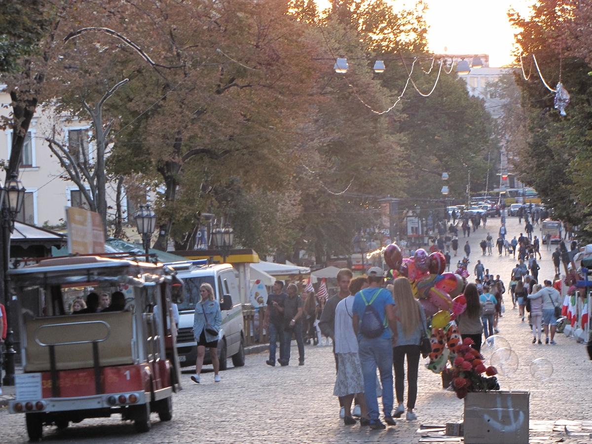 Odesa Deribasovskaya street
