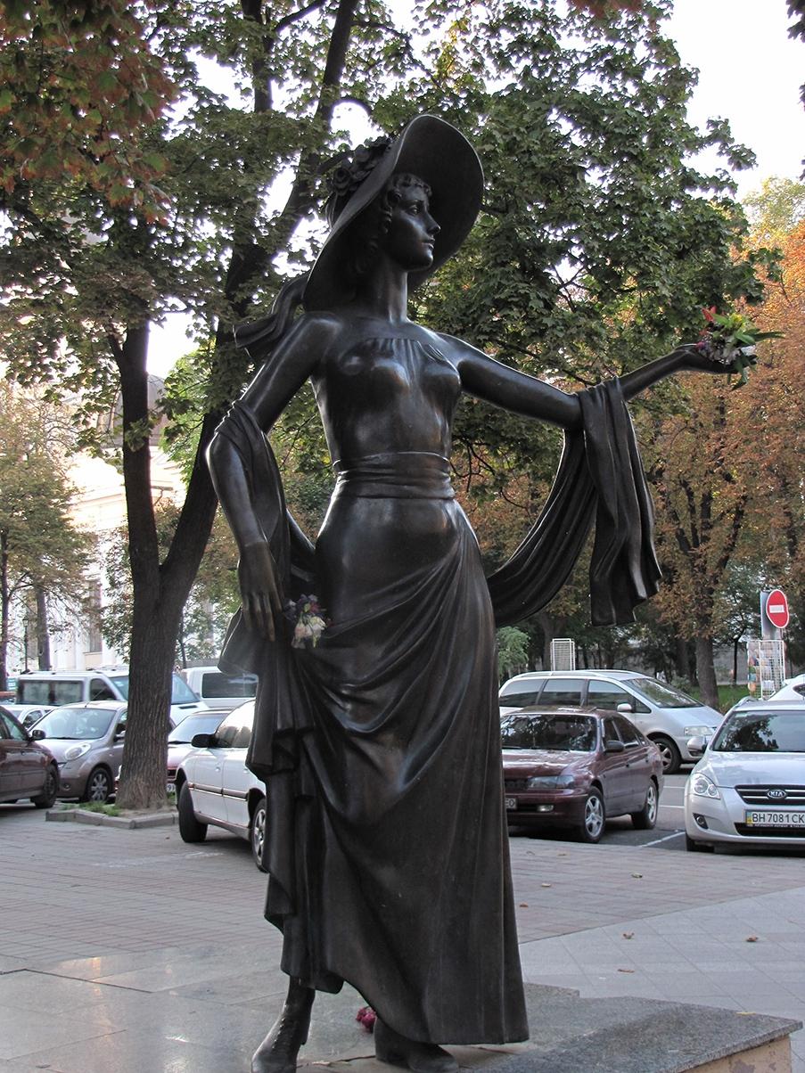 Odesa Monument of Vera Kholodnaya