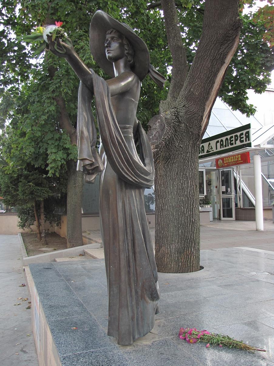 Monument of Vera Kholodnaya