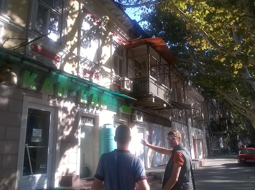 Odesa balkon