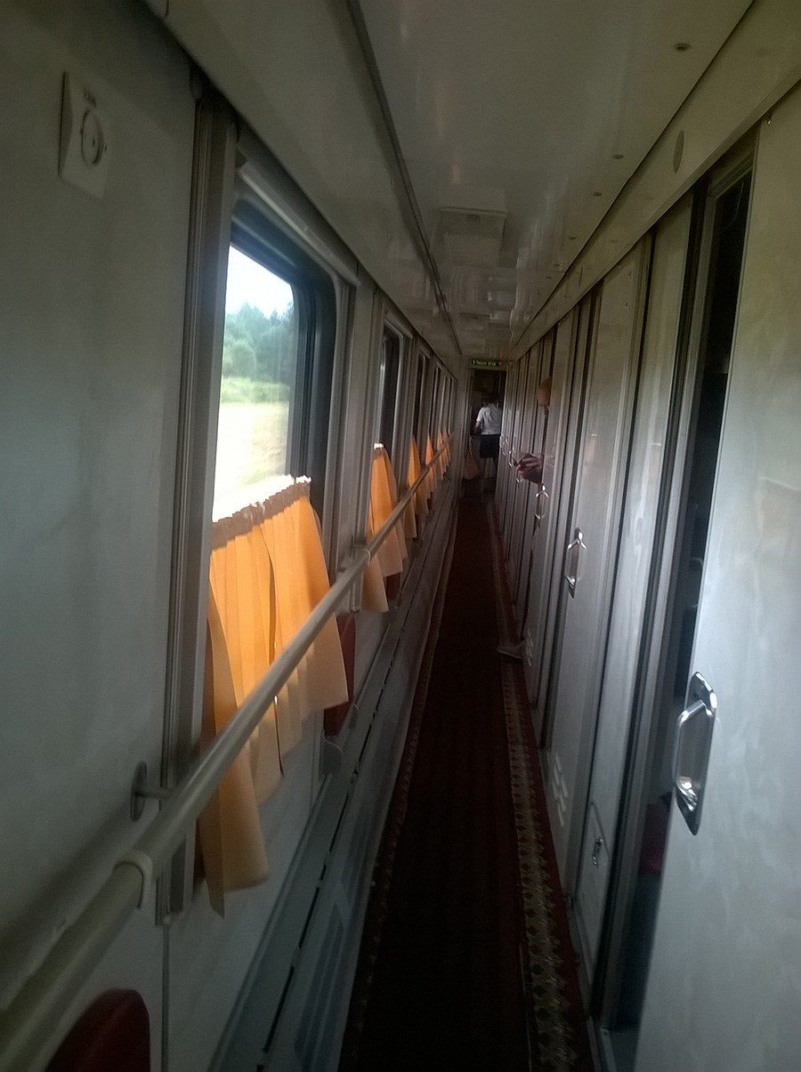 Train 096B coach