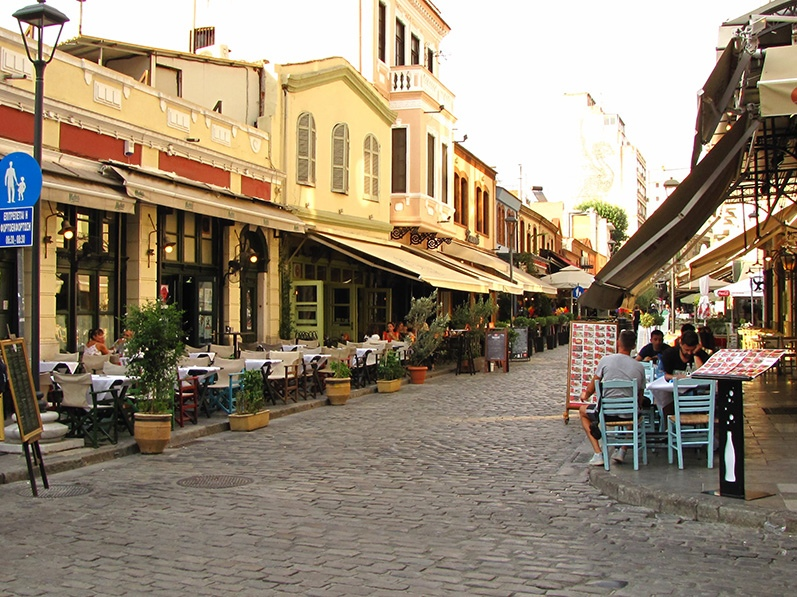 Ladadika Thessaloniki