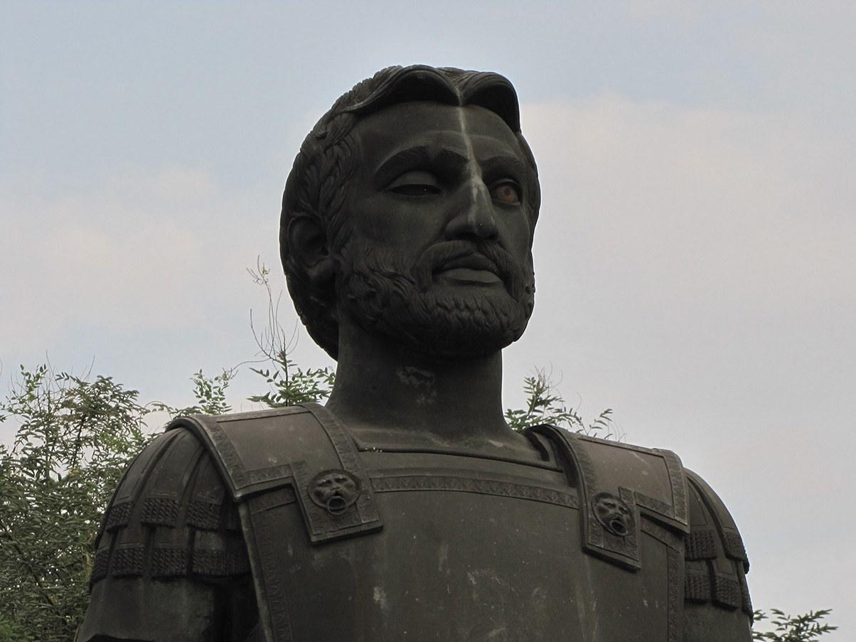 Sculpture of Philip II of Macedon