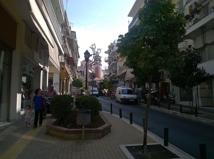 Thessaloniki - Agiou Georgiou street