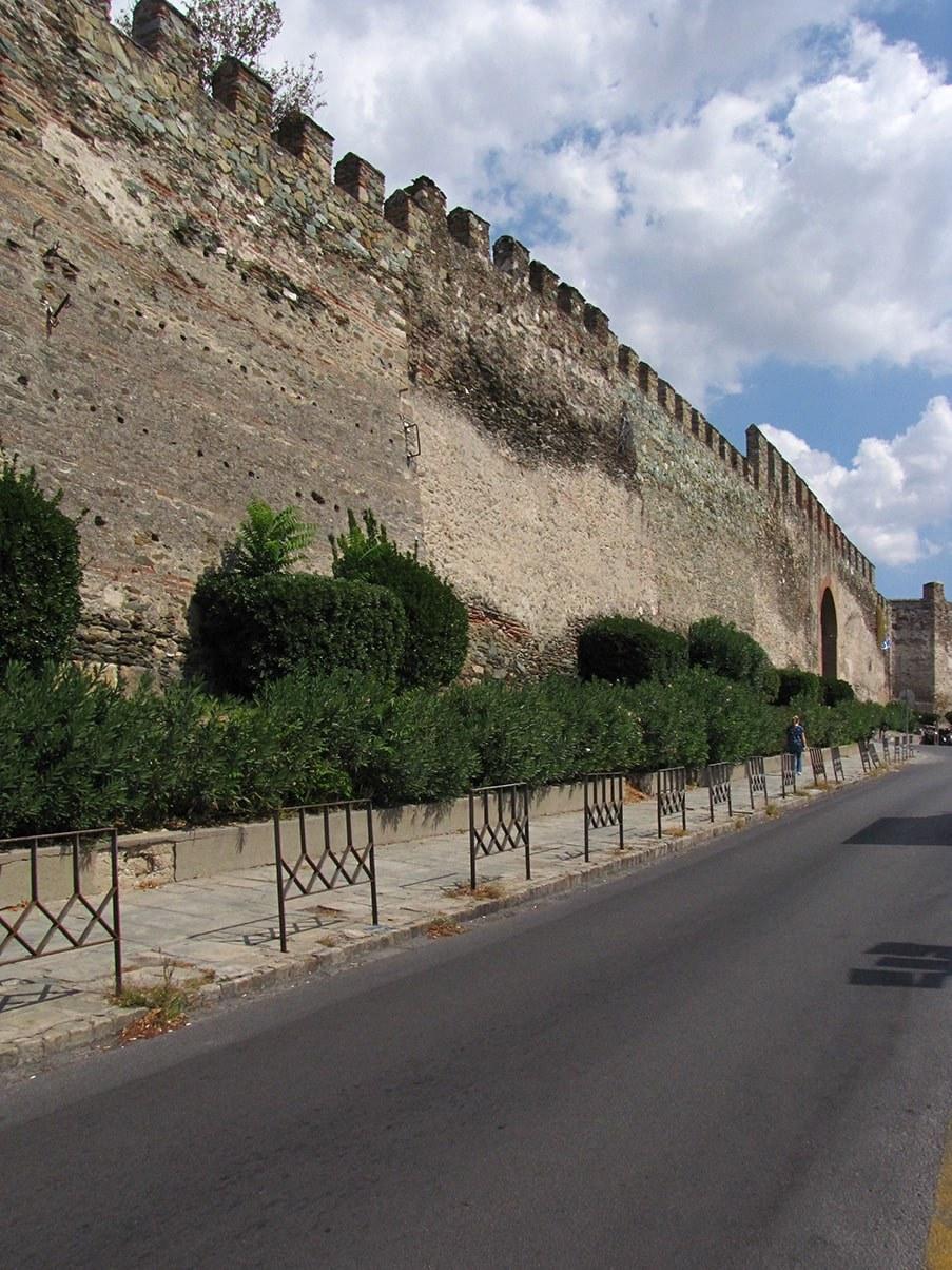 Thessaloniki Acropolis Walls