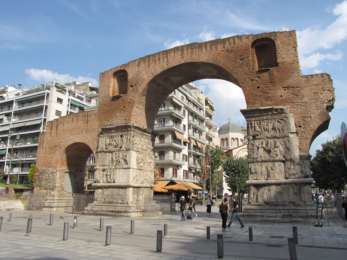 Thessaloniki Arch of Galerius