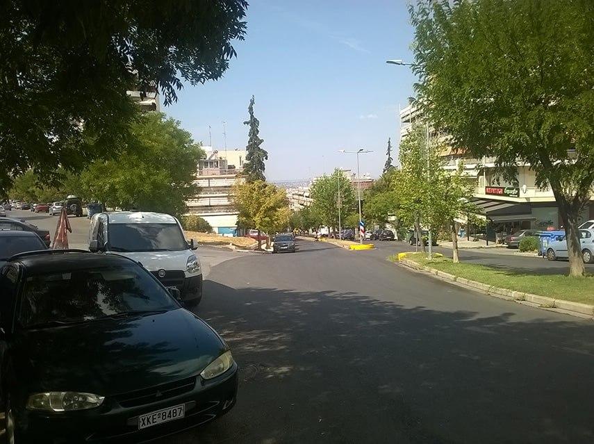 Thessaloniki Riga Feraiou street