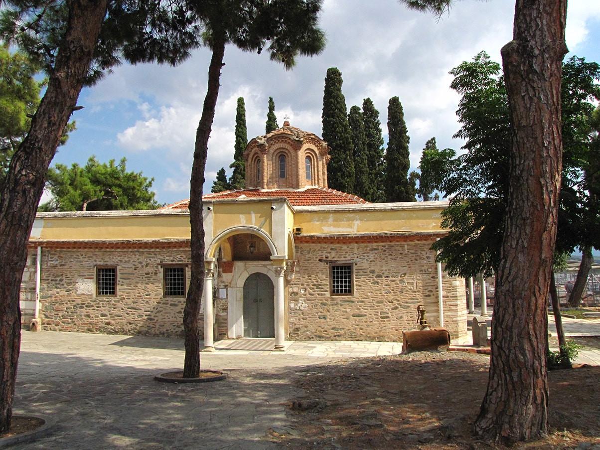 Thessaloniki  Vlatades Monastery