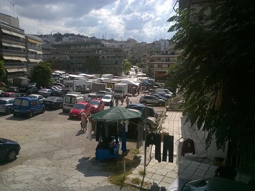 Thessaloniki street sale