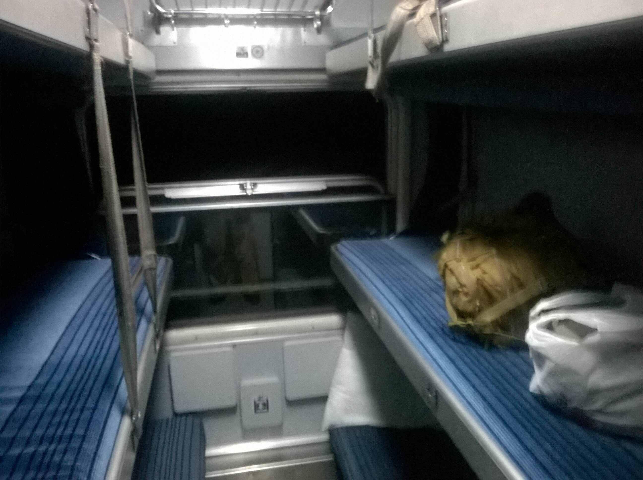 Train_Belgrade-Thessaloniki_Couchette_car