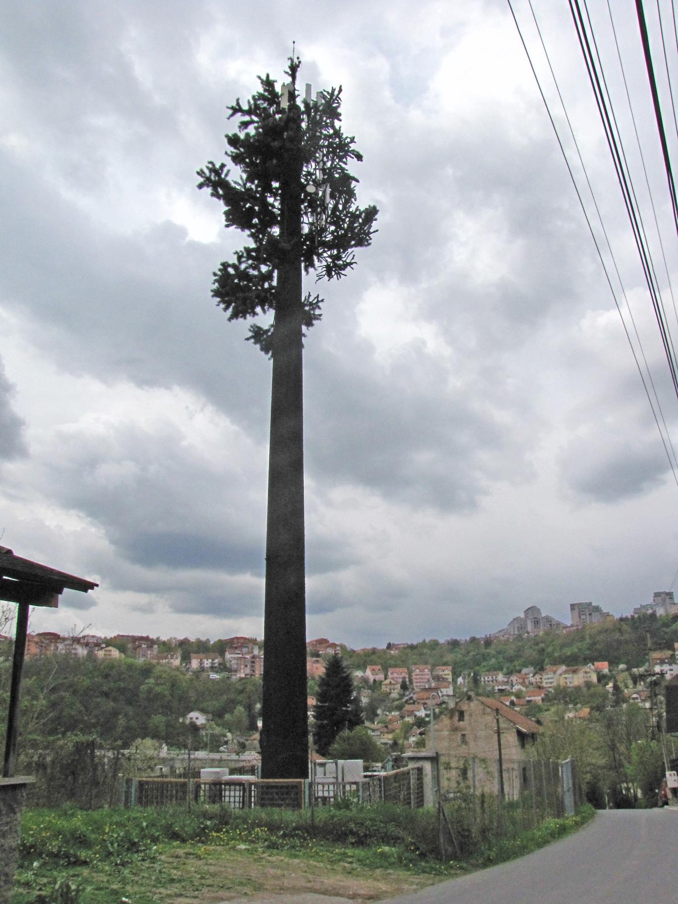 Bazna stanica-drvo