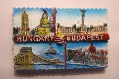 Souvenir magnet Budapest