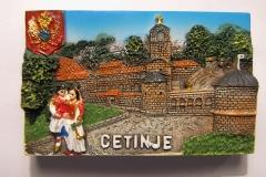 Souvenir magnet Cetinje