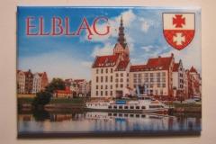 Souvenir magnet Elblag