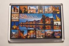 Souvenir magnet Gdansk