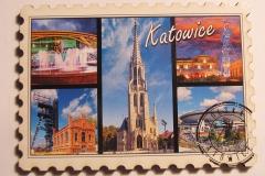 Souvenir magnet Katowice