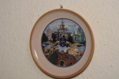 Souvenir plate Brest