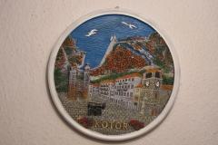 Souvenir  plate Kotor