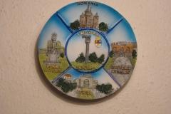 Souvenir plate Timisoara