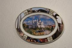 Souvenir plate Vitebsk